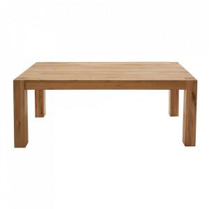 Masa dining maro din lemn de stejar 90x160 cm Pure Invicta Interior