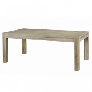 Masa extensibila din lemn tec 100x(200)250 cm Cosmopolitan Zago