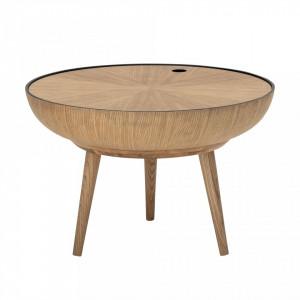 Masa pentru cafea din stejar 60x40 cm Bloomingville