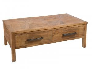 Masuta cu 2 sertare din lemn mindi 45x130 cm Mae Santiago Pons