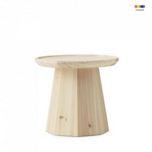 Masuta maro din lemn de pin 45 cm Pine Normann Copenhagen
