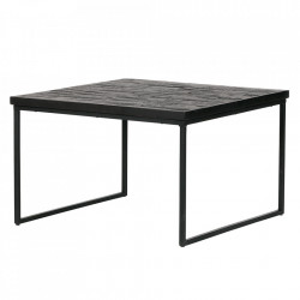 Masuta neagra din lemn 60x60 cm Sharing Be Pure Home