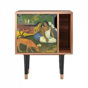 Noptiera multicolora din MDF si lemn Arearea By Paul Gauguin Furny