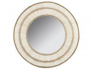Oglinda din alama 81 cm Bamboo Round Santiago Pons