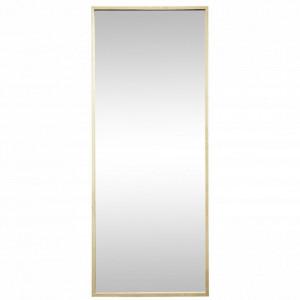 Oglinda dreptunghiulara maro din lemn pentru perete 70x185 cm Isabelle Hubsch