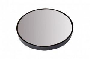 Oglinda neagra rotunda din inox 75 cm Dott Versmissen