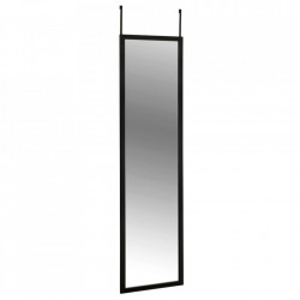 Oglinda pentru usa dreptunghiulara neagra din polistiren 30x120 cm Arcadia Wenko