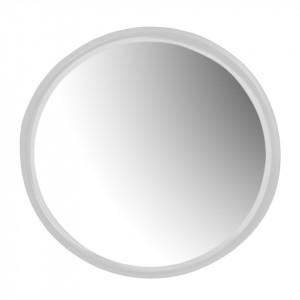 Oglinda rotunda alba din metal 35 cm Mira White Zago