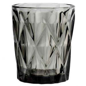 Pahar apa din sticla gri Diamond Nordal