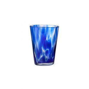 Pahar indigo/transparent din sticla 270 ml Casca Ferm Living