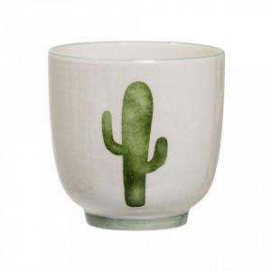 Pahar multicolor din ceramica 180 ml Cactus Bloomingville