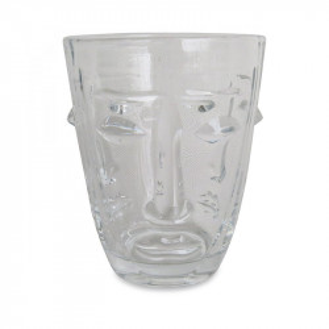 Pahar transparent din sticla 8x10 cm Judit Opjet Paris