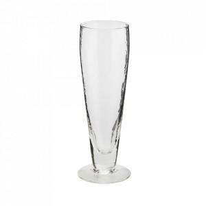 Pahar transparent din sticla pentru bere 5x19 cm Vital Madam Stoltz