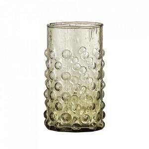 Pahar verde din sticla 250 ml Freja Bloomingville