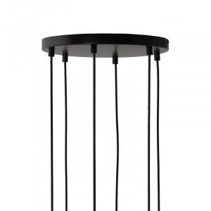 Pavilion pentru 6 cabluri negru din metal Marissa Frandsen Lighting
