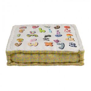 Perna de podea patrata multicolora din textil 50x50 cm Verra Giner y Colomer