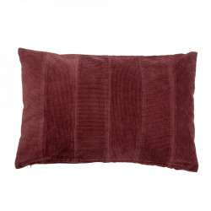 Perna decorativa dreptunghiulara rosie din bumbac 40x60 cm Deanna Bloomingville