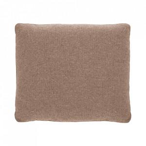 Perna decorativa dreptunghiulara roz din textil 60x70 cm Block La Forma