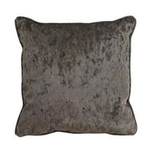Perna decorativa patrata neagra din poliester 45x45 cm Jacen Richmond Interiors