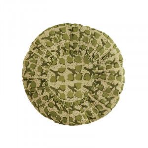 Perna decorativa rotunda multicolora din bumbac si fibre 45 cm Moritz Madam Stoltz
