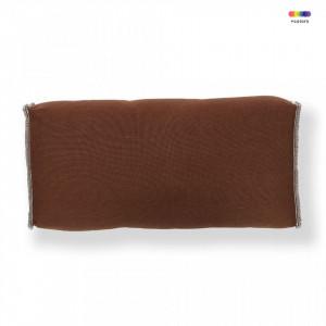 Perna maro din textil pentru spatar 28x52 cm Re Sako La Forma