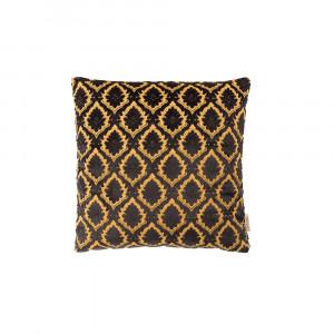 Perna neagra din textil 45x45 cm Glory Black Dutchbone