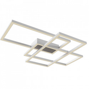 Plafoniera alba din metal cu LED Line Ceiling White Maytoni