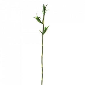 Planta artificiala verde din plastic 115 cm Stick Bamboo Unimasa