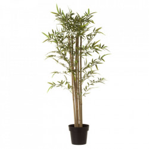 Planta artificiala verde/neagra din poliester si polietilena 120 cm Hardy Tall Unimasa