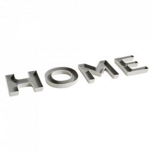 Platou decorativ alb/gri din ceramica 15 cm Home Nordal