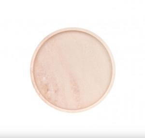 Platou decorativ roz din marmura Estremoz Pink Round Mini Versmissen