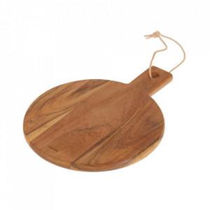 Platou maro din lemn de salcam 25x32 cm Salma Kave Home