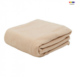 Pled crem din poliester 130x170 cm Febe Natural LifeStyle Home Collection