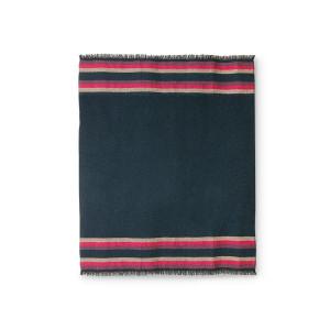 Pled multicolor din fibre acrilice 130x150 cm Mira HK Living