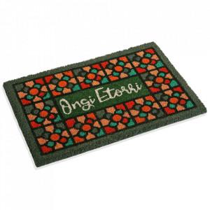 Pres pentru intrare multicolor din fibre de cocos 40x60 cm Tiles Versa Home