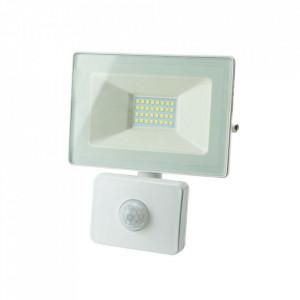 Proiector alb cu senzor din metal LED Rifes L Milagro Lighting