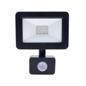 Proiector negru cu senzor din metal LED Lex L Milagro Lighting