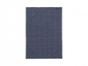 Prosop din bumbac si in albastru 50x70 cm Hale Tea Blue Ferm Living