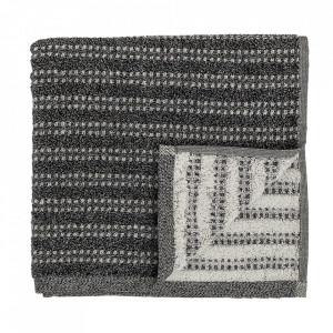 Prosop negru din bumbac 70x140 cm Ellya Bloomingville