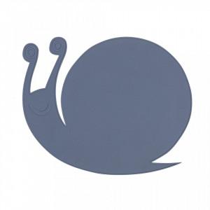 Protectie masa albastra din silicon 31x40 cm Snail Bloomingville