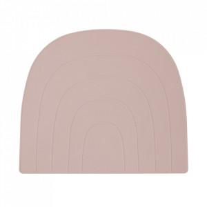 Protectie masa roz din silicon 34x41 cm Rainbow Oyoy