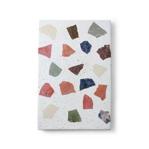Protectie multicolora din ciment si marmura pentru vase fierbinti Terrazzo Board HK Living