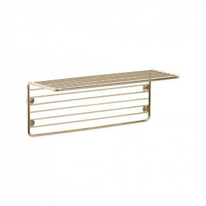 Raft auriu din metal 32 cm Wall Hubsch
