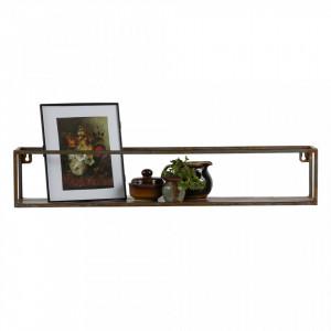 Raft din metal 80 cm Rust Be Pure Home