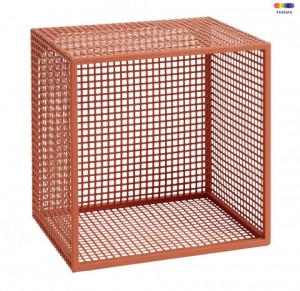 Raft maro din metal 32 cm Wire Terracotta Nordal