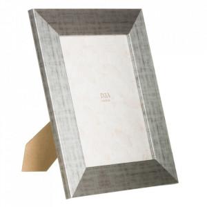 Rama foto argintie din MDF 22x27 cm Koto Ixia