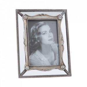 Rama foto argintie din polirasina 16x21 cm Malor Ixia