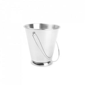 Recipient argintiu din inox pentru servire 12,5x12,8 cm Serve Aerts
