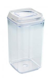 Recipient cu capac transparent/alb din polistiren si plastic 1,2 L Turin Maxi Wenko