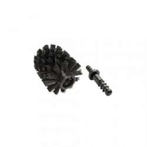 Rezerva perie neagra din plastic pentru toaleta Brushy Wenko